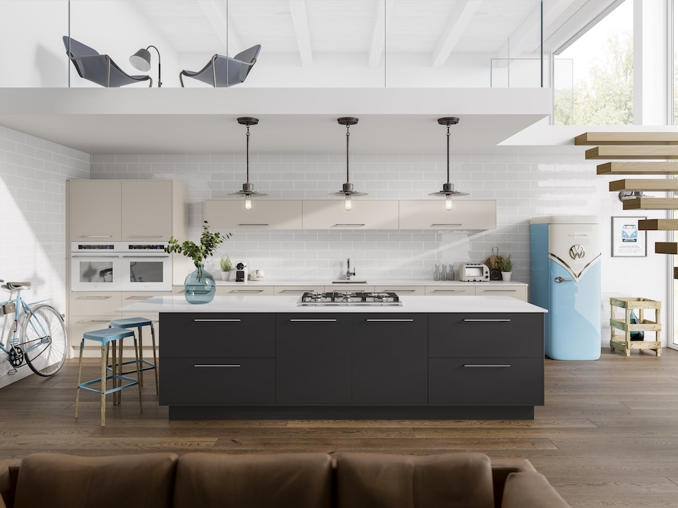 Kitchen_AUSTERHOUSE_Alto_SuperMattGraphite_SuperMattCashmere